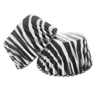 Zebra Animal Print Muffin/Cupcake Cases 60pk