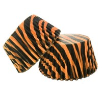 Tiger Animal Print Muffin/Cupcake Cases 60pk