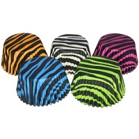 Assorted Animal Print Muffin/Cupcake Cases 60pk