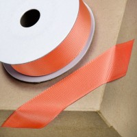 1 Metre - 25mm Grosgrain Ribbon - Coral
