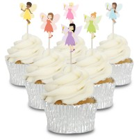 Fairies Cupcake Toppers - 12pk