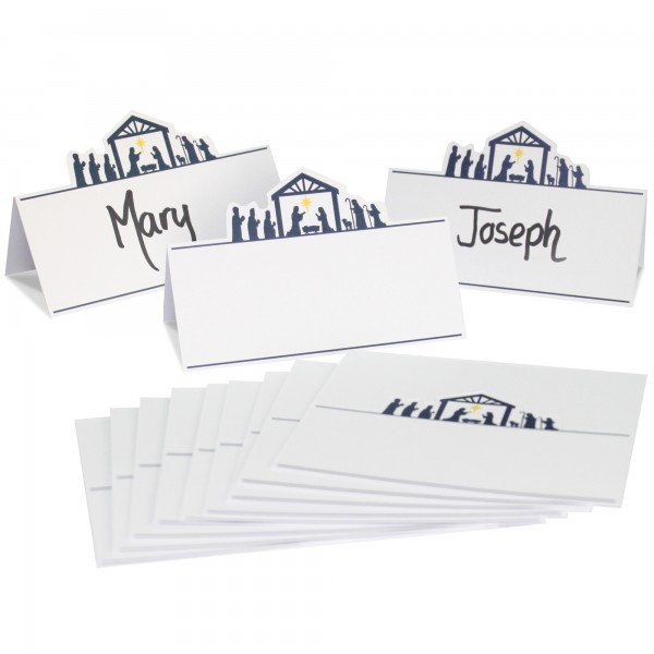 Nativity Place Name Cards - 12pk