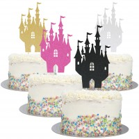 Large Fairy Tale Castle Cake Topper