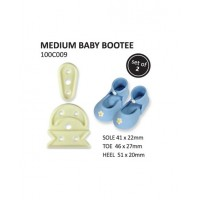 Medium Baby Bootee - set of 2