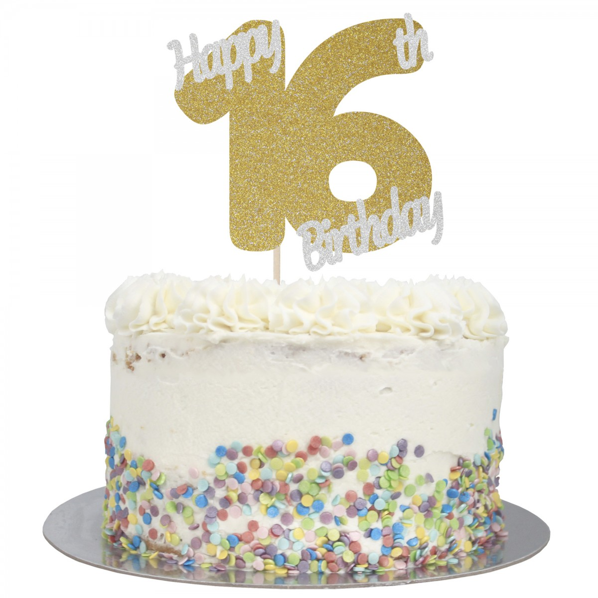 Sensational Buy Happy 16Th Birthday Cake Topper Online Personalised Birthday Cards Veneteletsinfo