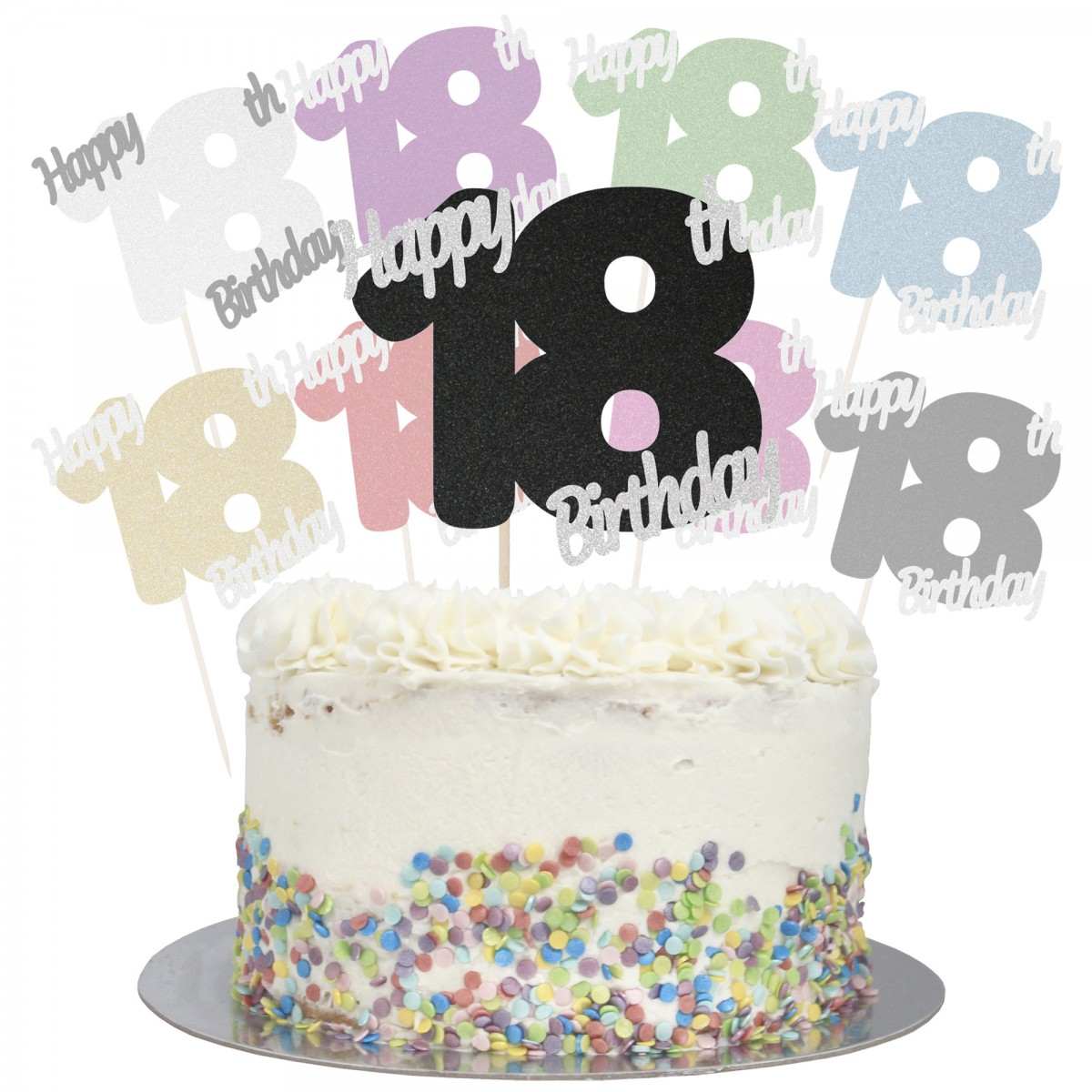 Peachy Buy Happy 18Th Birthday Cake Topper Online Personalised Birthday Cards Veneteletsinfo