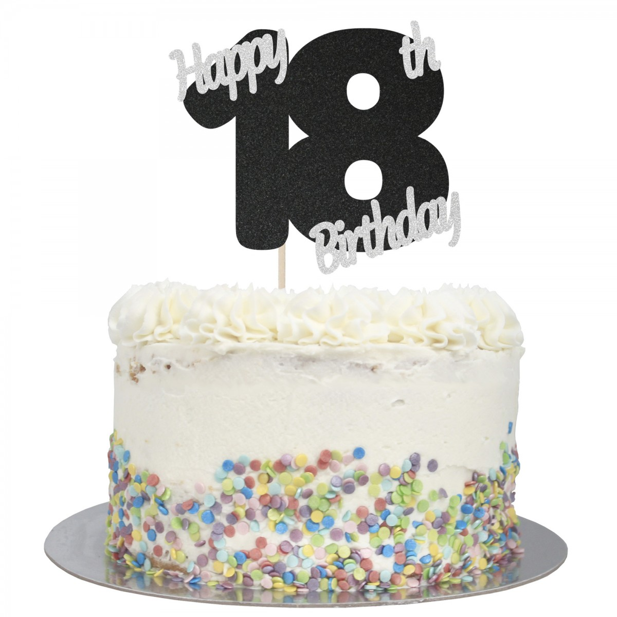 Stupendous Buy Happy 18Th Birthday Cake Topper Online Funny Birthday Cards Online Fluifree Goldxyz