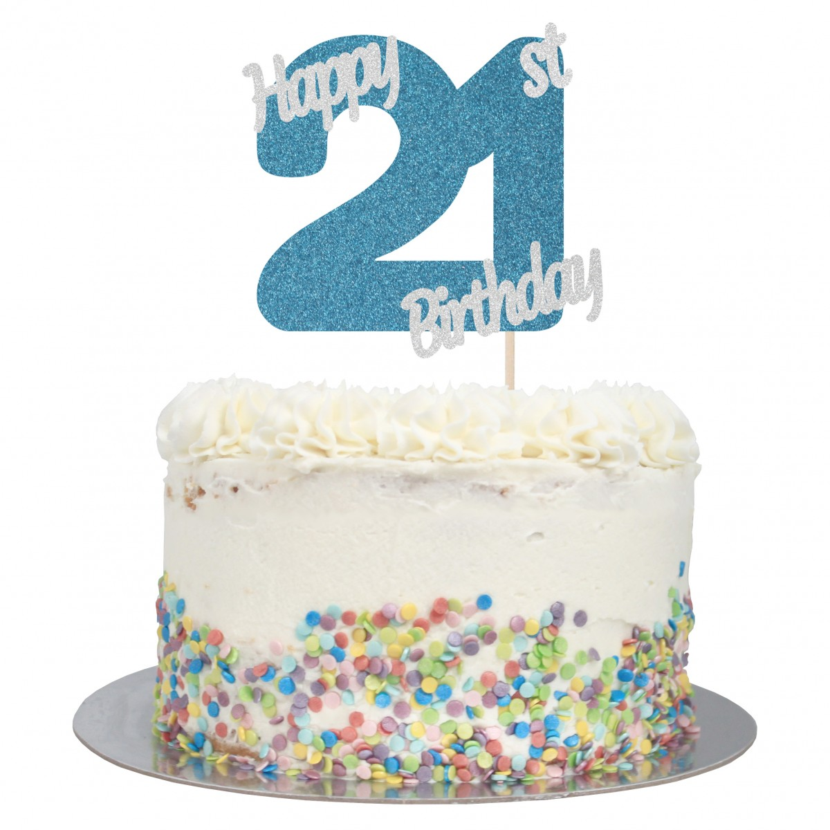 Terrific Buy Happy 21St Birthday Cake Topper Online Funny Birthday Cards Online Alyptdamsfinfo