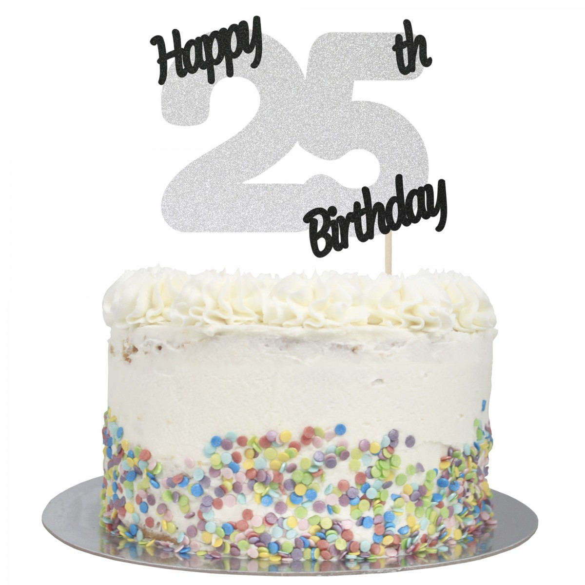 Terrific Buy Happy 25Th Birthday Cake Topper Online Funny Birthday Cards Online Inifofree Goldxyz