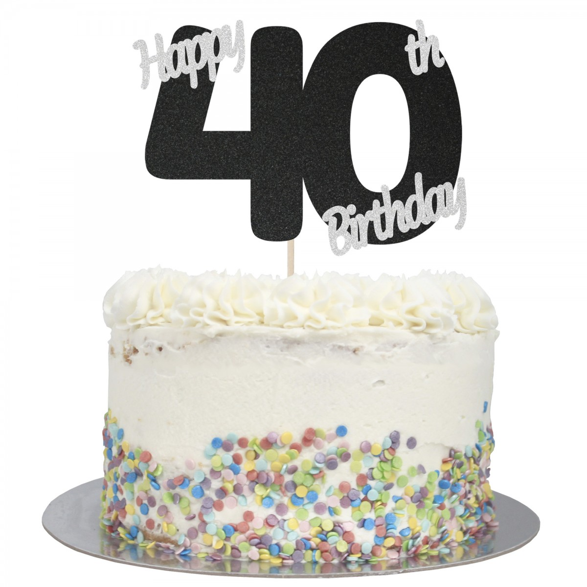 Brilliant Buy Happy 40Th Birthday Cake Topper Online Funny Birthday Cards Online Elaedamsfinfo