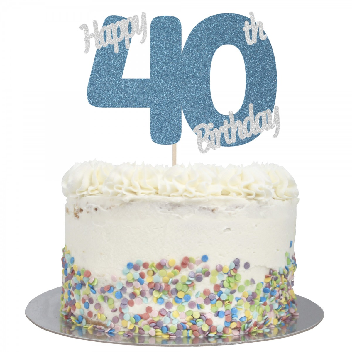 Fine Buy Happy 40Th Birthday Cake Topper Online Funny Birthday Cards Online Alyptdamsfinfo