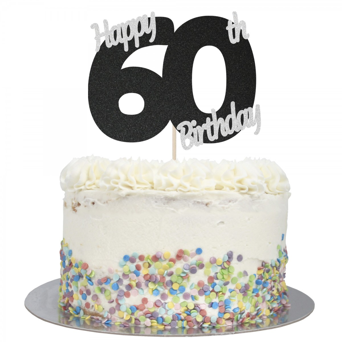 Remarkable Buy Happy 60Th Birthday Cake Topper Online Funny Birthday Cards Online Bapapcheapnameinfo