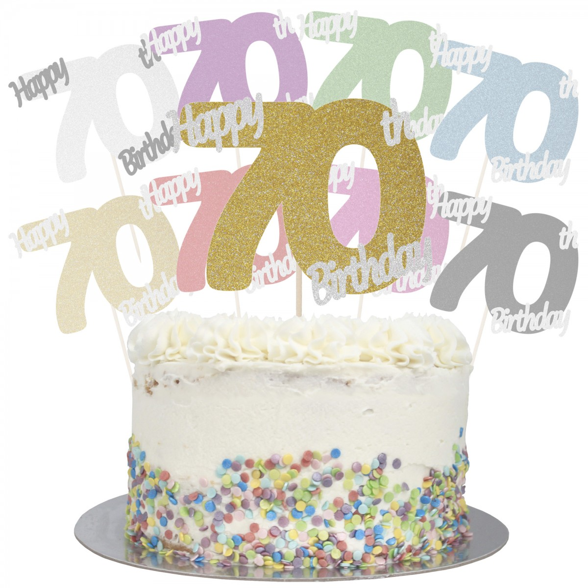 Sensational Buy Happy 70Th Birthday Cake Topper Online Funny Birthday Cards Online Aboleapandamsfinfo