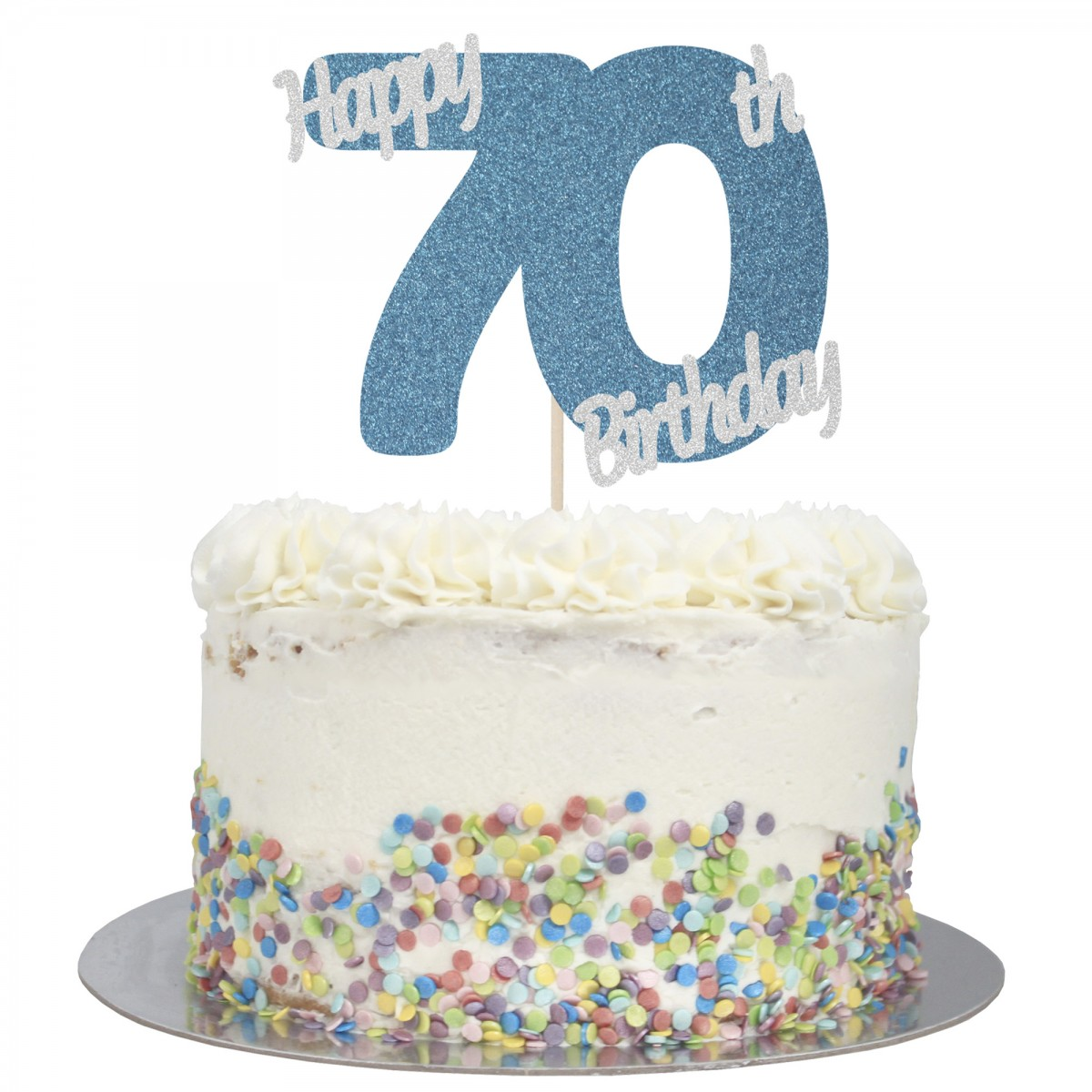 Astonishing Buy Happy 70Th Birthday Cake Topper Online Funny Birthday Cards Online Fluifree Goldxyz