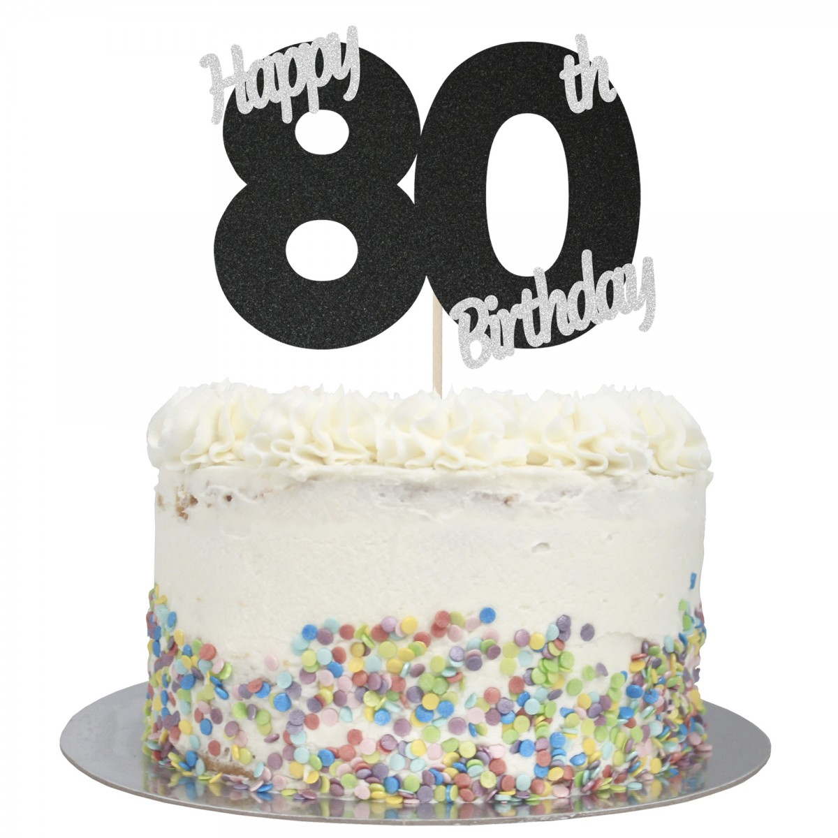 Tremendous Buy Happy 80Th Birthday Cake Topper Online Funny Birthday Cards Online Alyptdamsfinfo