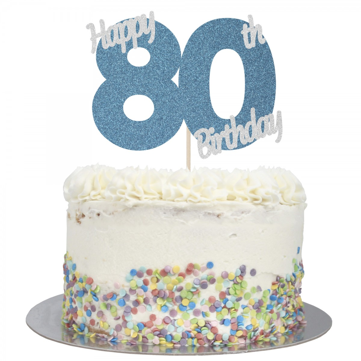 Fabulous Buy Happy 80Th Birthday Cake Topper Online Funny Birthday Cards Online Aboleapandamsfinfo