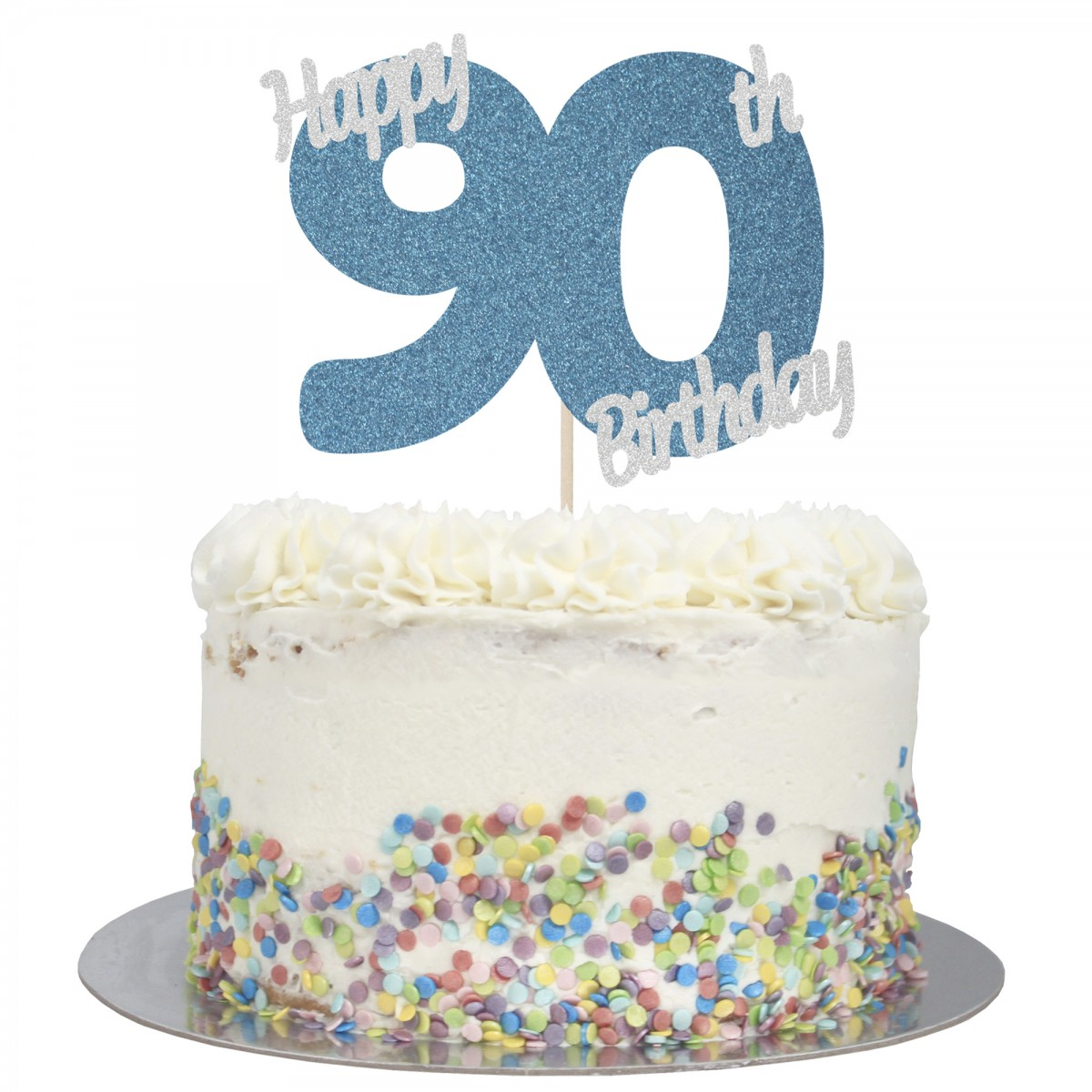 Admirable Buy Happy 90Th Birthday Cake Topper Online Personalised Birthday Cards Paralily Jamesorg