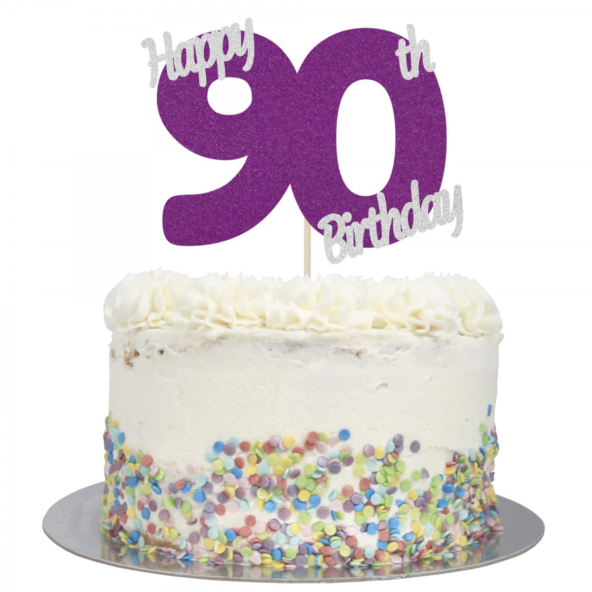 Fabulous Buy Happy 90Th Birthday Cake Topper Online Personalised Birthday Cards Rectzonderlifede