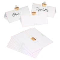 Birthday Cake Place Name Cards - 12pk