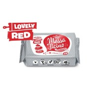 Massa Ticino Lovely Red Sugarpaste - 250g