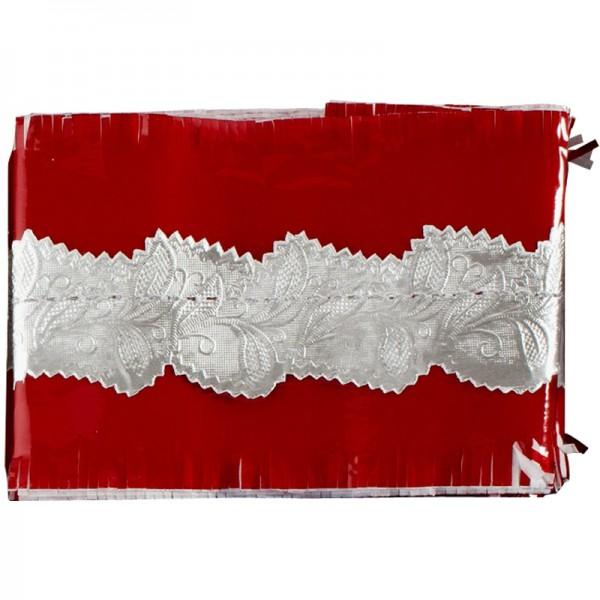 Red Cake Frill - 88cm