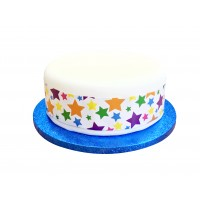 Superstars Cake Frill/Band - 39""