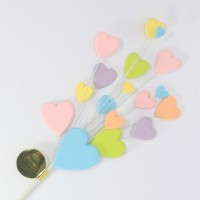 Pastel Multi Coloured Heart Spray