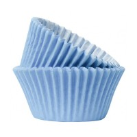 Baby Blue Paper Cupcake / Muffin Cases