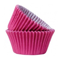 Hot Pink Paper Cupcake / Muffin Cases