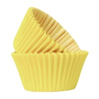 Yellow Paper Cupcake / Muffin Cases