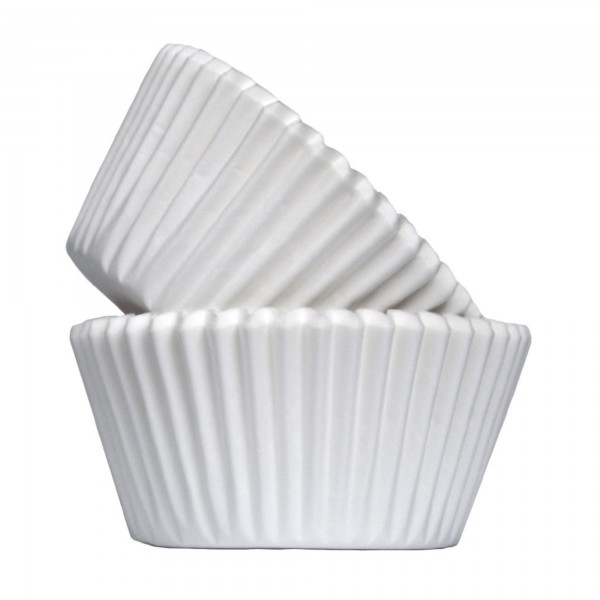 White Paper Cupcake Cases / Muffin Cases