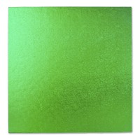 Grass Green Square Cake Drum / Board