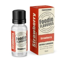 Strawberry Professional High Strength Natural Flavouring - 15ml