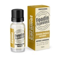 Creamy Buttery Caramel Professional High Strength Natural Flavouring - 15ml