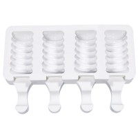 Small Twister Cakesicle / Ice Lolly Silicone Mould - 4 Impressions