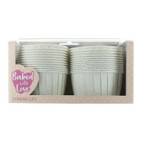 Ivory Baking Cups - 60mm - Pack of 24