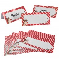 Cheeky Rudolph Place Name Cards - 12pk
