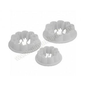 Carnation Cutter - Set/3