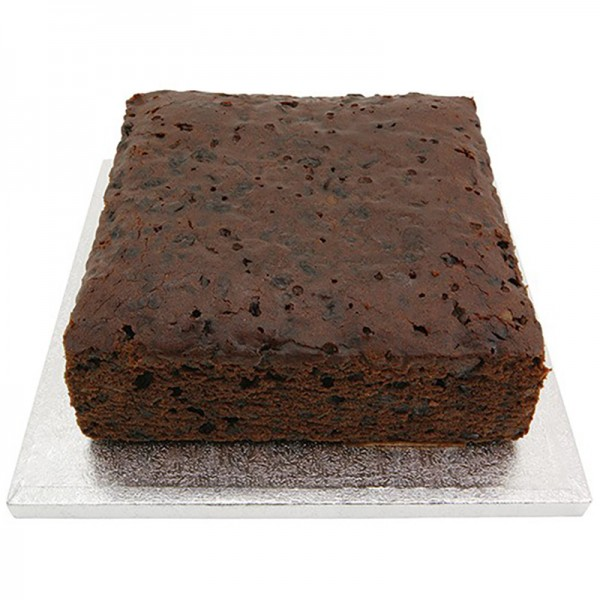 """8"""" - Square Rich Fruit Cake"""