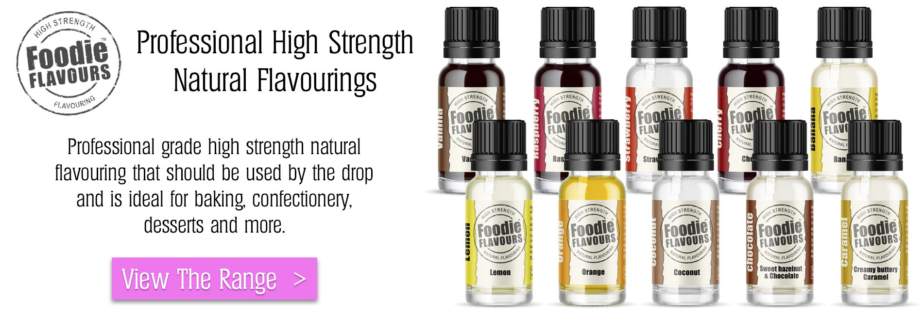 Professional High Strength Natural Flavourings